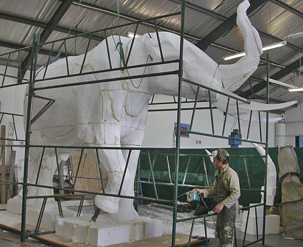 ele-lifesize-polystyrene